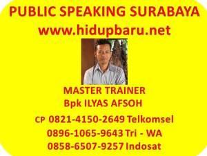 Public Speaking Surabaya Ilyas Afsoh 0821.4150.2649